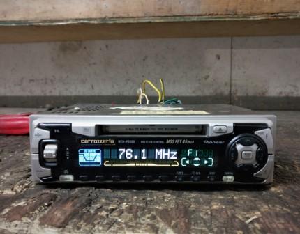 Pioneer Carrozzeria MEH-P5500 Single Din Head Unit
